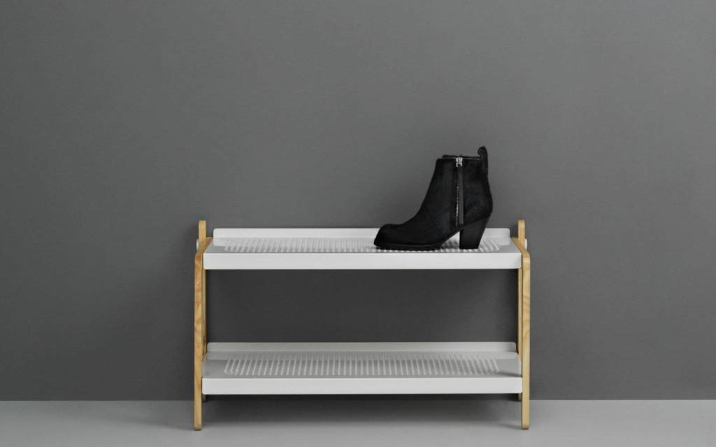 32e1c61bc61 Normann Copenhagen SKO shoe rack white - LIVING AND CO.