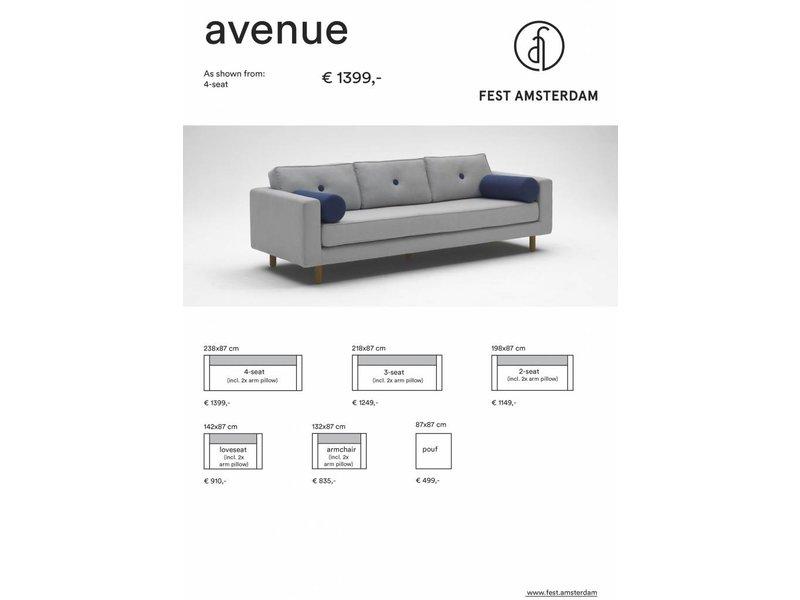 FEST Amsterdam Avenue bænk sofa