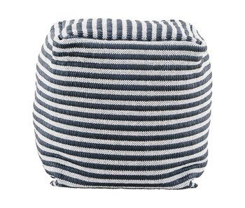 House Doctor Function pouf white gray