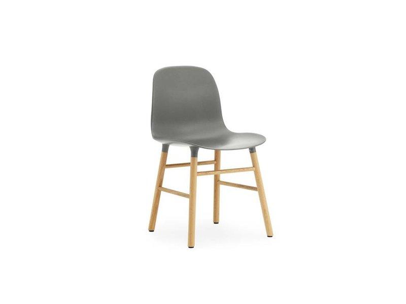 Normann Copenhagen Form Chair eiken stoel grijs