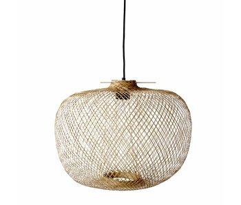 Bloomingville bambu lampa