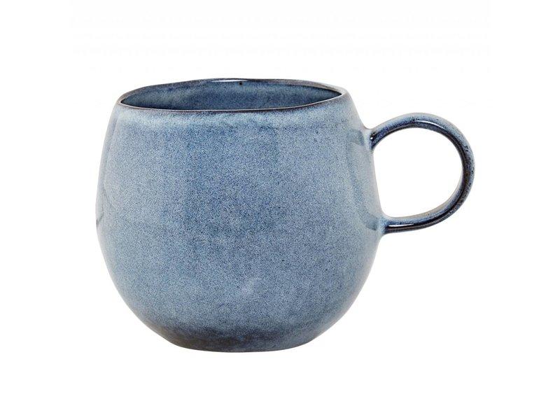 Bloomingville Sandrine mok blauw