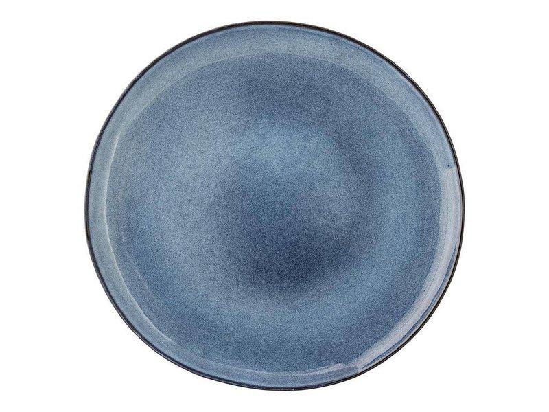 Bloomingville Sandrine bord blauw