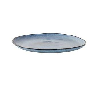 Bloomingville Sandrine plate blue