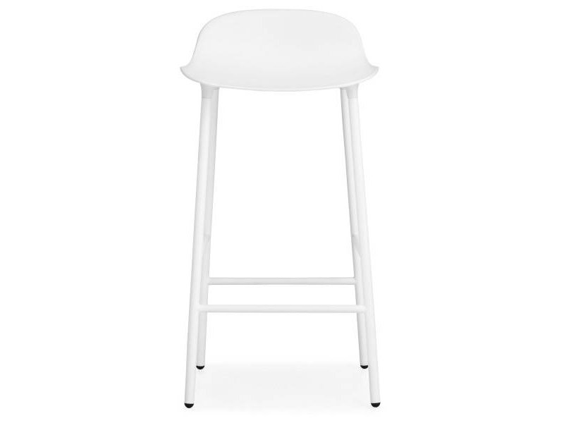 Normann Copenhagen Form Barstoel steel white