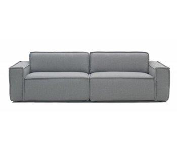 FEST Amsterdam Kant soffa tyg Sydney 91 ljusgrå