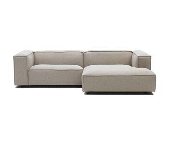 FEST Amsterdam Dunbar modulære benk sofa polvere 21 beige