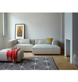 FEST Amsterdam Dunbar modulär bänk soffa polvere 21 beige