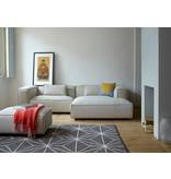 FEST Amsterdam Dunbar modulopbygget bænk sofa polvere 21 beige