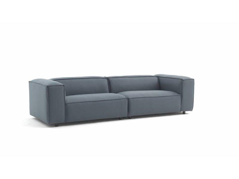 FEST Amsterdam Dunbar modulaire bank sofa Kvadrat hero 991 groen grijs