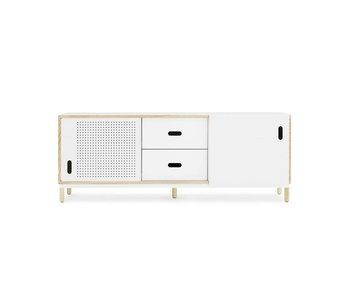 Normann Copenhagen Kabino sideboard with drawers white