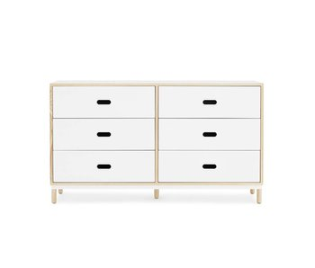 Normann Copenhagen Kabino dresser with 6 drawers white