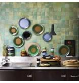 HK-Living Dinerbord keramiek groen