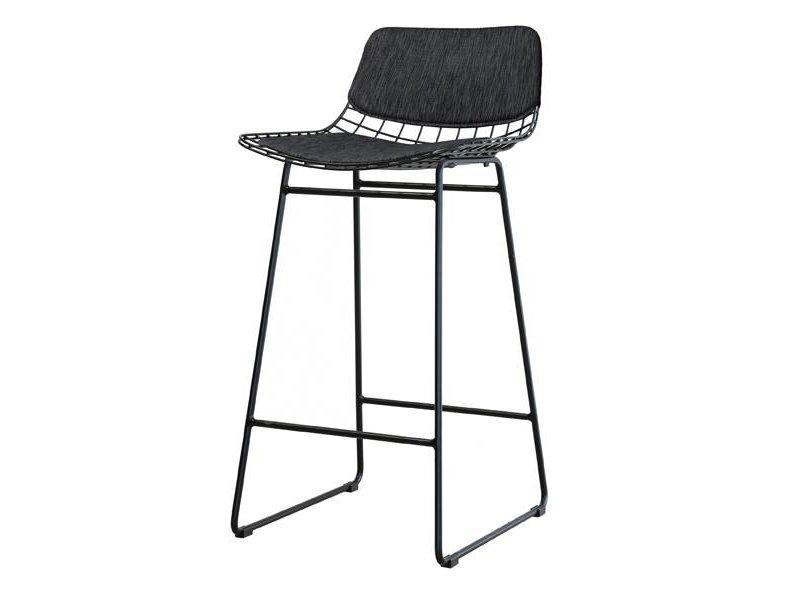 HK-Living Metaltråd stol sort