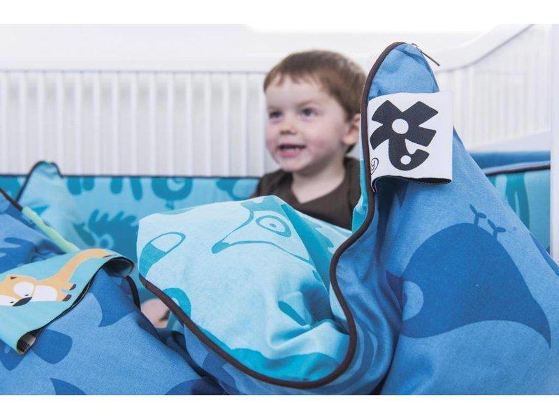 Sebra Kili bed baby crib junior white