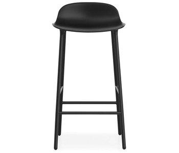 Normann Copenhagen Form Barstoel stål svart