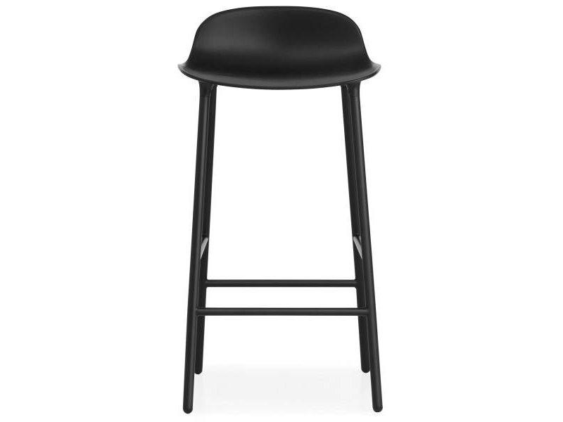 Normann Copenhagen Form Barstool steel black