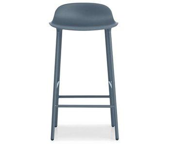 Normann Copenhagen Form Barstoel stål blå
