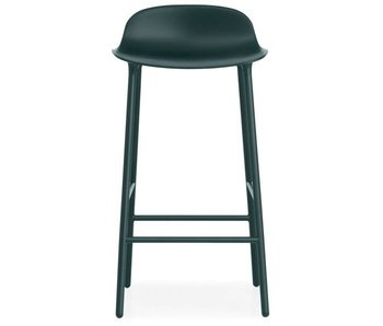 Normann Copenhagen Form Barstoel steel green