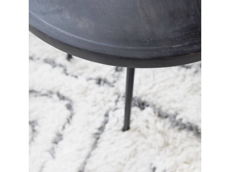 House Doctor Juco salontafel hout metaal