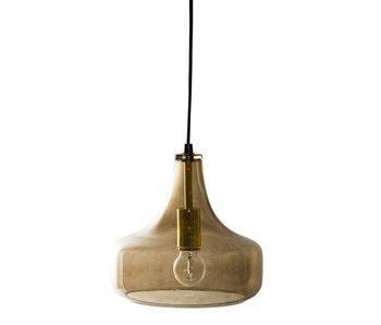 Bloomingville Brunt glas taklampa