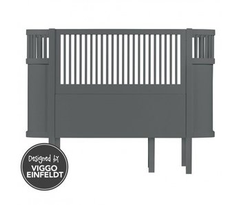 Sebra Kili bed baby crib junior grey