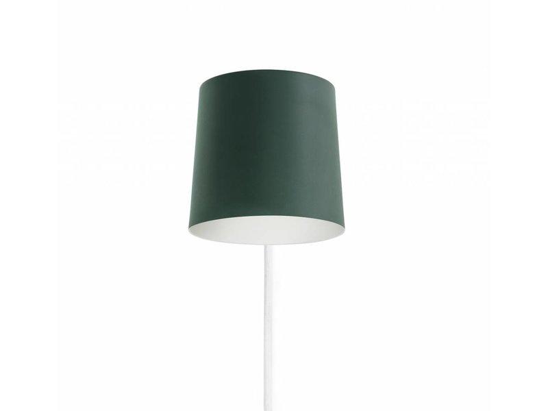 Normann Copenhagen Rise wall lamp petrol green