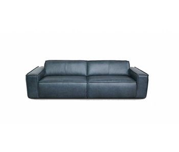 FEST Amsterdam Edge 3 seater leather sofa Da Silva 15005