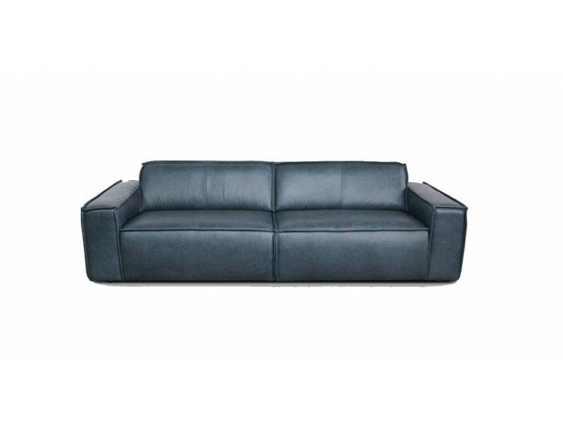 Edge 3 seater leather sofa Da Silva 15005