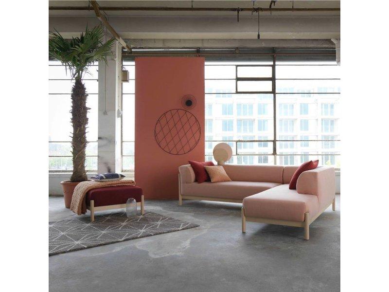 FEST Amsterdam Kate sofa lounge Kvadrat Steelcut Trio 515 pink stof