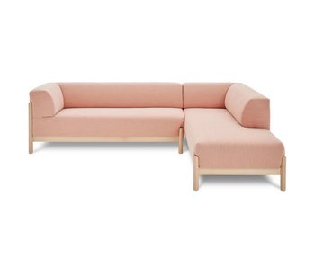 FEST Amsterdam Kate divano salotto Kvadrat Steelcut Trio 515 tessuto rosa