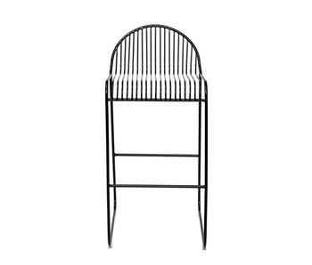 Bloomingville Friend barstool black metal