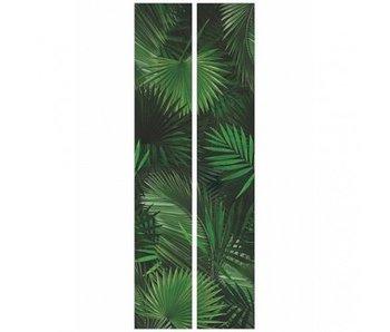 KEK Amsterdam carta da parati tropicale palma intrecciate