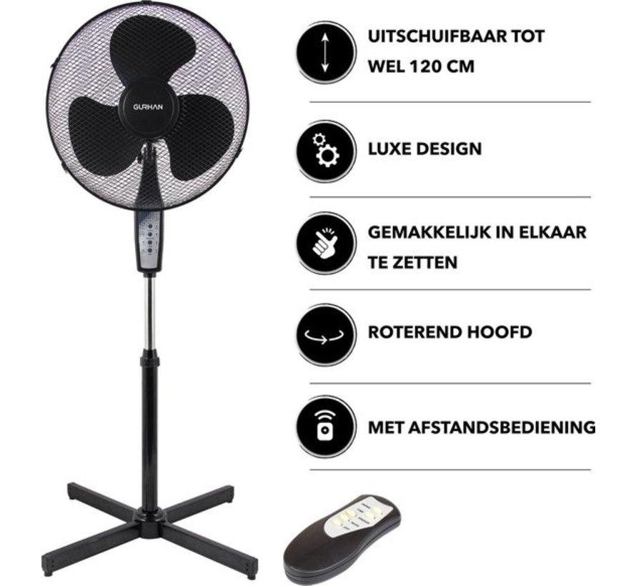 Luxe staande ventilator met afstandsbediening