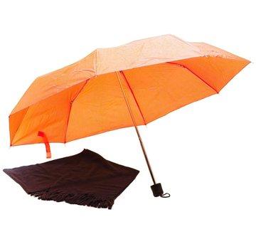 Paraplu LUXE PARAPLU MET WARME SJAAL IN GIFTBOX - PARAPLU