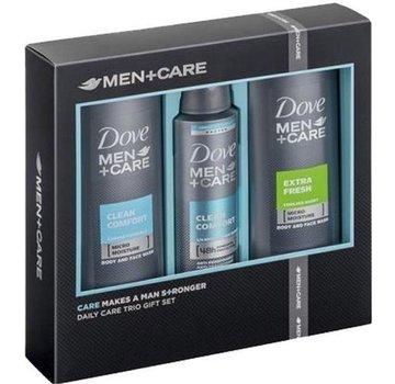 Dove DOVE MEN GESCHENK SET CARE CLEAN COMFORT + EXTRA FRESH - DEASPRAY & 2X DOUCHE - DOVE