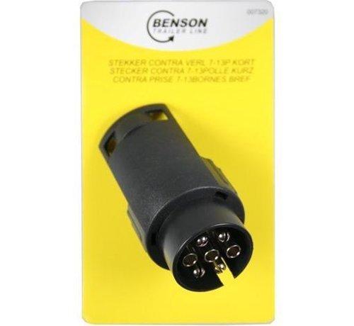 Benson STEKKER VERLOOP CONTRA 7P = 13P KORT B/C - BENSON