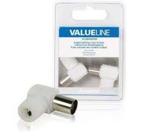 Valueline COAXCONNECTOR 2 STUKS -  VALUELINE