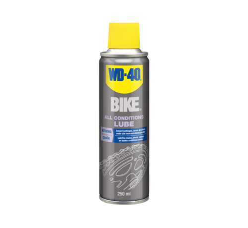 WD 40 ALL CONDITIONS LUBE - BIKE - 0,25 L - AËROSEL - WD 40