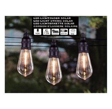 Höfftech SOLAR LED LICHTSNOER - 10 LED LAMPEN BINNEN EN BUITEN - HÖFFTECH