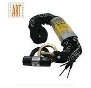 Stahlex ART 3 GECERTIFICEERD KETTINGSLOT MET HANGSLOT 120 CM LANG DOORSNEE SCHAKELS: 1 CM - STAHLEX
