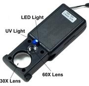 Benson LOUPES/LOEPEN MET LED LICHT & GELD UV DETECTOR - BENSON