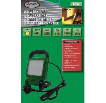 Höfftech LED BOUWLAMP 10 WATT DAGLICHT - 220V - 700 LUMEN - HÖFFTECH