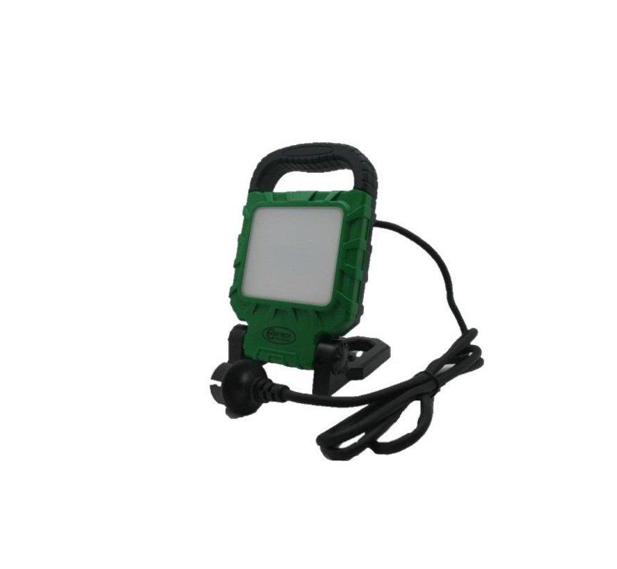LED BOUWLAMP 20 WATT DAGLICHT - 220V - 1400 LUMEN - HÖFFTECH