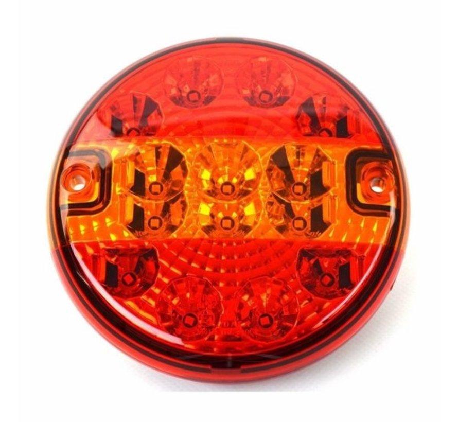 BENSON ACHTERLICHT VRACHTWAGEN ROND LED 140 MM