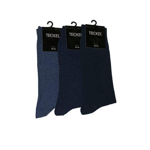 Teckel Herensok katoen Teckel 3-pack