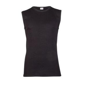 Beeren Heren Mouwloos shirt met ronde hals M3000 Zwart