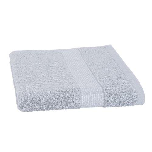 Clarysse Luxe handdoek Licht Grijs + 2 washandjes Geometric