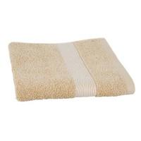 Luxe handdoek Zand + 2 washandjes Geometric