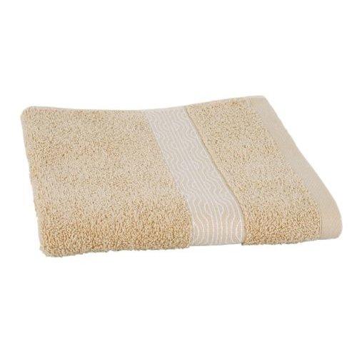 Clarysse Luxe handdoek Zand + 2 washandjes Geometric